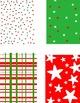 December Digital Backgrounds