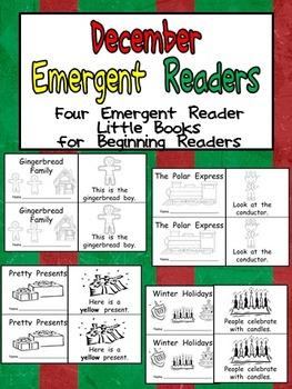 December Emergent Readers - A Book for Each Week- Christma