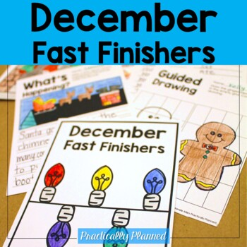 December Fast/Early Finishers