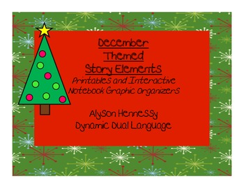 December Graphic Organizers (Fiction)