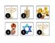 December Hanukkah Calendar Cards-Real Photos