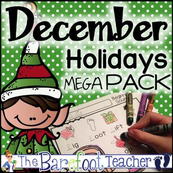 Christmas and December Holidays MEGA Pack