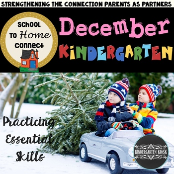 December NO-PREP Homework Packet - Kindergarten