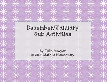 December / January Sub Activities