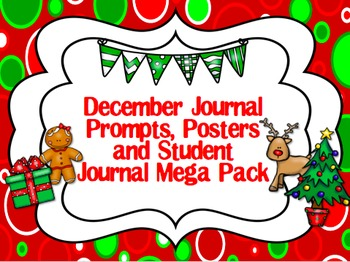 December Journal Prompts & Student Journal