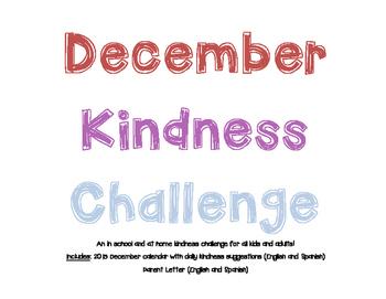 December Kindness Challenge