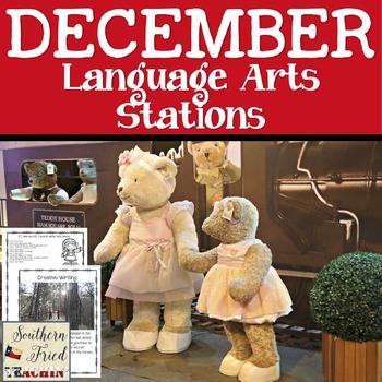 December Language Arts Stations