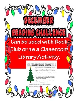 December Library Reading Challenge Activity