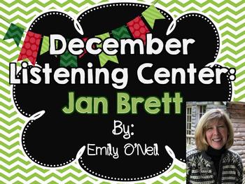 December Listening Center - Author Study: Jan Brett