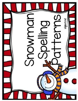 December Literacy Station Pack