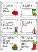 December Literacy and Math Centers for Second Grade-Common