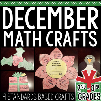 December Math Craftivities