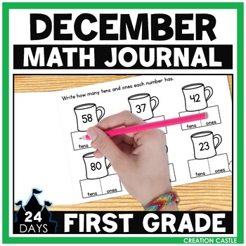 December Math Journal - 1st Grade