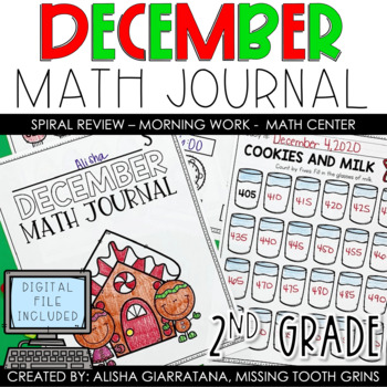 Math Journal December (2nd Grade)