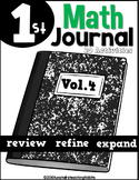 First Grade Math Journal Volume 4