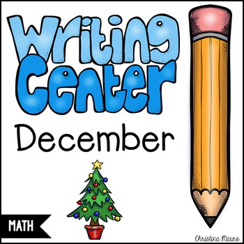 December Math Writing Station