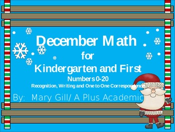 Kindergarten - December Math