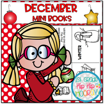 December Mini Books...Fold, Color, Read!