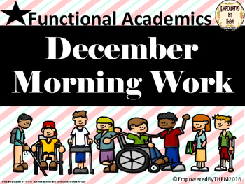 December Morning Folder - Functional Academics