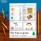 December Morning Work for Kindergarten by The Printable