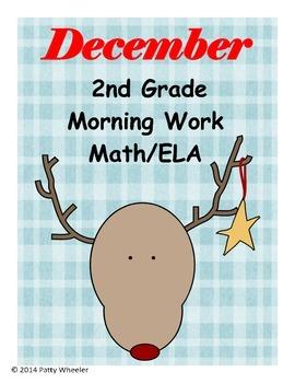 December Morning Work for Second Grade