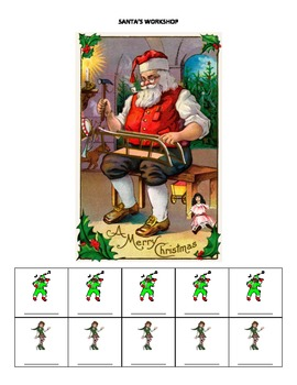 December Name Game for Articulation and Language: Santa's