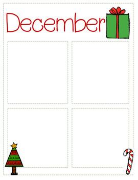 December Newsletter Template {Editable}