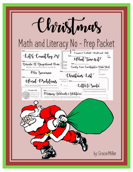 December NO PREP Packet