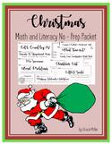 December NO PREP Packet