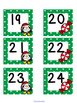 December Polka Dot Calendar Set