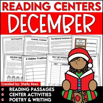 Reading Comprehension Passages - December Reading Unit