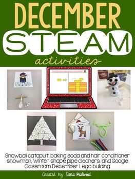 December STEAM Activities