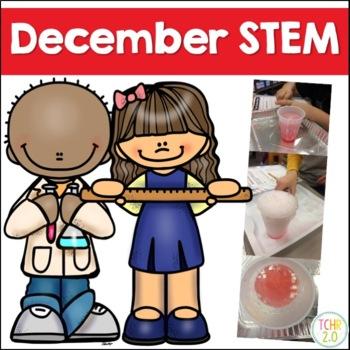 December STEM 11 Challenges Winter Christmas Hanukkah