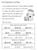 December Sight Word Stories with Comprehension Questions