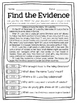 December Text Detectives Jr.- Text Evidence for 2nd Grade