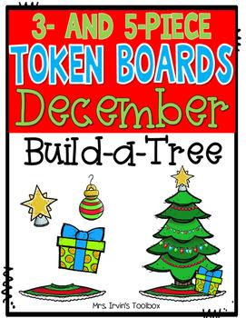 December Token Boards: Build-a-Tree
