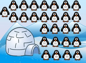 Winter Penguin Attendance