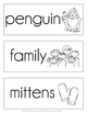December Word Cards {December Vocabulary}