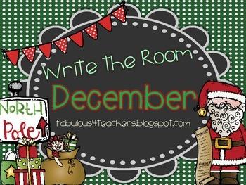December Write the Room