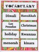 December in Our Town - Math and Literacy Center FREEBIE