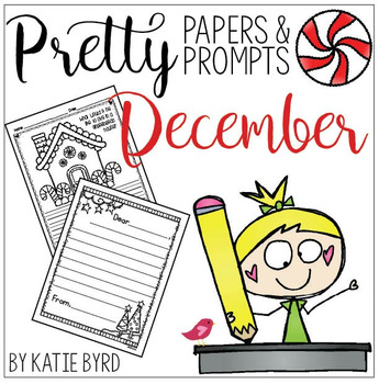 Writing activities - December Pretty Papers & Prompts