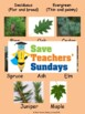 Deciduous or evergreen / coniferous trees and leaves Lesso