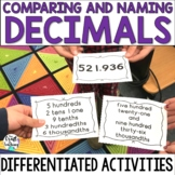 Decimal Cards Activity Pack