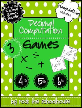 Decimal Computation Games