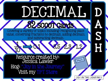 Decimal Dash: Scoot Game