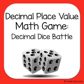 Decimal Place Value Game