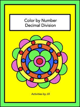 Decimal Division Color by Number
