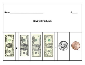 Decimal Flipbook