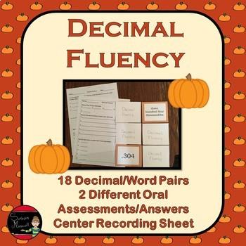 Decimal Fluency Ordering and Rounding