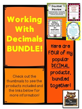Decimal Fun Bundle Galore!